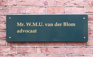 van der Blom Advocaat kantoor